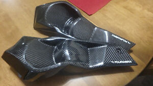 Can Am Renegade headlight delite covers