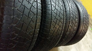 AllSEASON / SUMMER TIRES  275/55/20