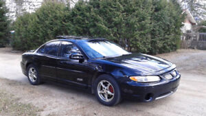 2000 Pontiac Grand Prix GTP special edition Berline