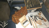 Leather tooling supplies