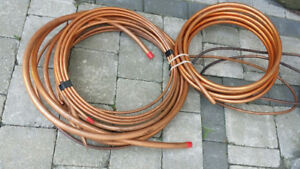 Copper Tubing assorted sizes lot New
