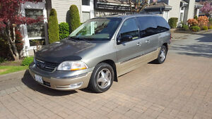 2000 Ford Windstar SEL With Bruno lift and scooter, Van
