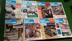 Model railroaded magazines back issues from 1989-1990
