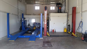 SUBLEASE TO AUTOMOTIVE DETAILER IN AIRDRIE