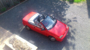 classic 1992 Geo Metro LSi Convertible, clean, inspected, ready.