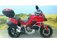 Ducati Multistrada 2015** Traction, Power Modes, One Owner, Panniers, Top Box