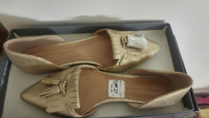 Christian Siriano Gold Shoes - Brand NEW!