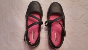 Brand new pair of black Sketchers' girls shoes--REDUCED