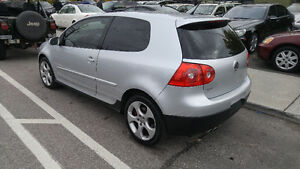 2008 Volkswagen Golf GTI 2.0T - 4 New Tires and Front Brakes