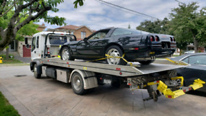 Local and long distance flatbed towing