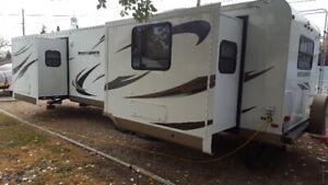 2012 rockwood v-nose travel trailer
