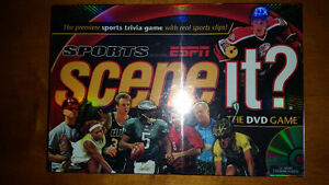 Factory sealed Sports Scene It DVD game only $9 see my other ads
