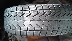 2 - Wintrac winter tires. 215/70R16. $50.00