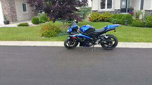 07 gsx-r 600 well maintained mild mods