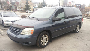 2006 Ford Freestar LOW K'S 113,000km Safety/E-tested!
