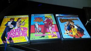 Austin Powers Trilogy DVDs