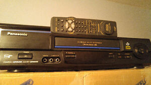 VCR & 62 VHS Movies plus 230+ recorded from TV