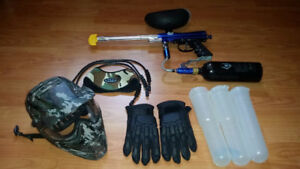 Paintball set in very good shape.