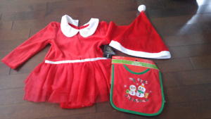 Baby Girl Christmas Clothes (6-12 months)