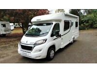 Elddis Autoquest 155 4 berth rear fixed bed lowline motorhome for sale