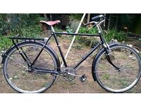 Dutch style mens bike