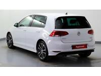 2015 Volkswagen Golf 2.0 TDI R-Line 150PS Diesel white Manual