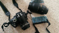 Nikon D5000 dSLR with TWO AWESOME LENSES, Price Negotiable