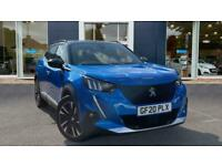 2020 Peugeot E-2008 50kWh GT Line Auto 5dr SUV Electric Automatic