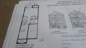 Free hold end unit 4 bed town home for sale- Assignment