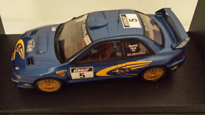 Autoart 1:18 Subaru Impreza Rally #5 Diecast Collector Model.