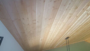 pine T&G primium grade interior boards