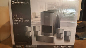 New (in box) Kamron Audio Home Theatre System