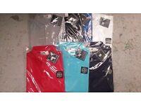 Men's RALPH LAUREN STONE ISLAND HUGO BOSS polo Tshirts!! (MOES CLOTHING)!!