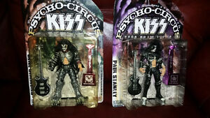 Figurines Kiss Psycho-Circus de collection