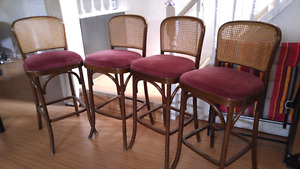 4 bar height stools