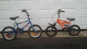 Many Boys Size 20 - 12 (Smaller Bikes with Training Wheels