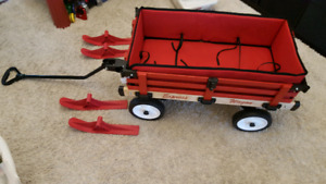 New Deluxe Millside express wagon and trailer.