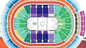 OILERS VS DUCKS TICKETS IN THE LOWER BOWL, OILERS ATTACK TWICE