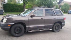2005 Hyundai Santa Fe vente ou échange