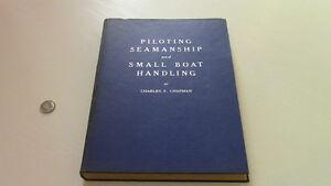 Piloting, Seamanship and Small Boat Handling. Chapman, 1956-57