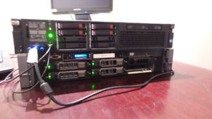 HP DL380 G7 and Dell R710
