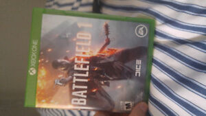 Battlefield one for Xbox 1
