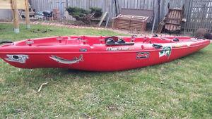 Mariner Propell kayak....pedal or paddle