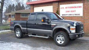 2008 Ford F-250 Diesel Supercab FX4 4X4 - Absolutely Loaded!