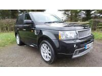 2008 Land Rover Range Rover Sport 2.7 TDV6 HSE 5dr Auto with autobigraphy ful...