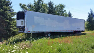 53 ft Utility Trailer with Carrier Reefer