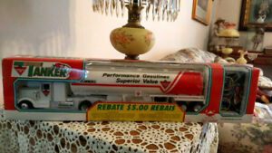1990's CANADIAN TIRE TANKER, REMOTE CONTROL, NEVER USED, $15.00.