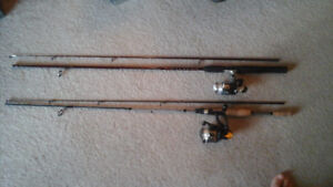 QUANTUM FISHING ROD AND REEL