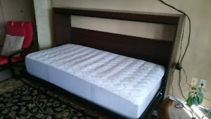 High Quality Single Murphy bed & mattress