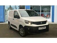 2020 Peugeot Partner 1.5 BlueHDi 1000 Professional Standard Panel Van SWB EU6 (s